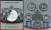 5 x 25 Euro Silbermünzen 2015 Bundesrepubl...