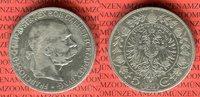 5 Corona / Kronen Silbermünze 1900 Österreich Ungarn Franz Josef schön  19,00 EUR  + 8,50 EUR frais d'envoi