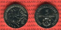 5 Mark 1984 DDR Gedenkmünze 150. Todestag Adolf Freiherr von Lützow prä... 42,00 EUR  + 8,50 EUR frais d'envoi