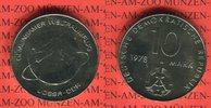10 Mark 1978 DDR Gedenkmünze Erster Weltraumflug Sowjetunion und DDR pr... 7,00 EUR  + 8,50 EUR frais d'envoi