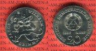 20 Mark Silbergedenkmünze 1986 DDR Gedenkmünze 200. Geburtstag Gebrüder... 210,00 EUR  + 8,50 EUR frais d'envoi