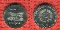 20 Mark Silbergedenkmünze 1975 DDR Gedenkmünze 225. Todestag Johann Seb... 54,00 EUR  + 8,50 EUR frais d'envoi