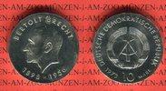10 Mark Silbergedenkmünze 1973 DDR Gedenkmünze 75. Geburtstag Bertolt B... 32,00 EUR  + 8,50 EUR frais d'envoi