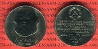 20 Mark 1983 DDR Gedenkmünze 100. Todestag Karl Marx prägefrisch, leich... 12,00 EUR  + 8,50 EUR frais d'envoi