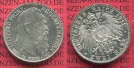 2 Mark Silbermünze 1911 D Bayern Bavaria P...