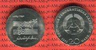 20 Mark Silbergedenkmünze 1975 DDR Gedenkmünze 225. Todestag Johann Seb... 3982 руб 54,00 EUR  +  627 руб shipping