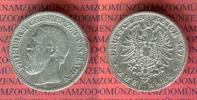 2 Mark Silbermünze 1877 Baden Großherzog Friedrich schön, kl. Randfehle... 3319 руб 45,00 EUR  +  627 руб shipping