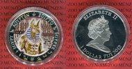 1 Dollar Farbmünze 2012 Fiji Anubis Ägyptischer Totengott PP in Kapsel  3319 руб 45,00 EUR  +  627 руб shipping