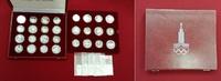 14 x 5 u. 14 x 10 Rubel Silber 1977-1980 Russland, USSR, UDSSR Olympisc... 33113 руб 449,00 EUR  +  1844 руб shipping