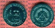 5 Mark 1977 DDR Gedenkmünze 125. Todestag Friedrich Ludwig Jahn prägefr... 1106 руб 15,00 EUR  +  627 руб shipping
