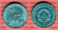 5 Mark 1988 DDR Gedenkmünze 150 Jahre Deutsche Ferneisenbahn prägefrisc... 369 руб 5,00 EUR  +  627 руб shipping