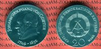 20 Mark Silbergedenkmünze 1969 DDR Gedenkmünze 220. Geburtstag Johann W... 59,00 EUR  +  8,50 EUR shipping