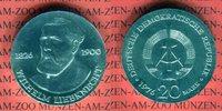 20 Mark Silbergedenkmünze 1976 DDR Gedenkmünze 150. Geburtstag Wilhelm ... 42,00 EUR  +  8,50 EUR shipping