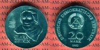 20 Mark Silbergedenkmünze 1982 DDR Gedenkmünze 125. Geburtstag Clara Ze... 45,00 EUR  +  8,50 EUR shipping