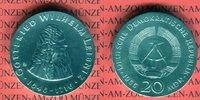 20 Mark Silbergedenkmünze 1966 DDR Gedenkmünze 250.Todestag Gottfried W... 95,00 EUR  +  8,50 EUR shipping