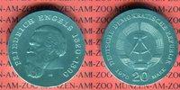 20 Mark Silbergedenkmünze 1970 DDR Gedenkmünze 150. Geburtstag Friedric... 49,00 EUR  +  8,50 EUR shipping