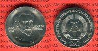 20 Mark Silbergedenkmünze 1973 DDR Gedenkmünze 60.Todestag August Bebel... 2801 руб 39,00 EUR  +  610 руб shipping