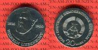20 Mark Silbergedenkmünze 1976 DDR Gedenkmünze 150. Geburtstag Wilhelm ... 49.87 US$ 45,00 EUR  +  9.42 US$ shipping