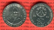 20 Mark Silbergedenkmünze 1984 DDR Gedenkmünze 225. Todestag Georg Frie... 121.91 US$ 110,00 EUR  +  9.42 US$ shipping
