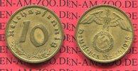10 Pfennig Kursmünze mit Hoheitszeichen 1936 G III. Reich, Hakenkreuz S... 387.91 US$ 350,00 EUR  +  9.42 US$ shipping