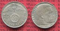 5 Reichsmark Erhaltung ! 1939 B III. Reich Kursmünze mit Hoheitszeichen... 26.60 US$24,00 EUR24.38 US$ 22,00 EUR  +  9.42 US$ shipping