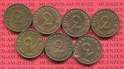 2 Pfennig Kursmünze mit Hoheitszeichen 1939 III. Reich, Jahrgang Komple... 37.68 US$ 34,00 EUR  +  9.42 US$ shipping