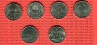 5 Mark Neusilber  DDR DDR Lot 6 x 5 Mark Gedenkmünzen Lot, bitte Bild a... 35,00 EUR  Excl. 8,50 EUR Verzending