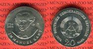 20 Mark Silbergedenkmünze 1974 DDR Gedenkmünze 250. Geburtstag Immanuel... 43,00 EUR  Excl. 8,50 EUR Verzending