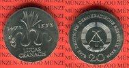 20 Mark Silbergedenkmünze 1972 DDR Gedenkmünze 500. Geburtstag von Luca... 47,00 EUR  Excl. 8,50 EUR Verzending