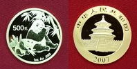 500 Yuan Goldmünze 2007 China Volksrepublik PRC Gold Panda, 1 Unze Gold... 1499,00 EUR  +  8,50 EUR shipping