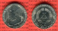 20 Mark Silbergedenkmünze 1967 DDR Gedenkmünze 200. Geburtstag Wilhelm ... 50,00 EUR  Excl. 8,50 EUR Verzending