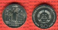 20 Mark Silbergedenkmünze 1979 DDR Gedenkmünze 250. Geburtstag Gotthold... 59,00 EUR  Excl. 8,50 EUR Verzending