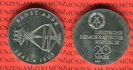 20 Mark Silbergedenkmünze 1980 DDR Gedenkmünze 75. Todestag Ernst Abbe ... 39,00 EUR  Excl. 8,50 EUR Verzending