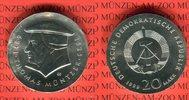 20 Mark Silbergedenkmünze 1989 DDR Gedenkmünze 500. Geburtstag Thomas M... 65,00 EUR  +  8,50 EUR shipping