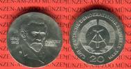 20 Mark Silbergedenkmünze 1973 DDR Gedenkmünze 60.Todestag August Bebel... 39,00 EUR  Excl. 8,50 EUR Verzending