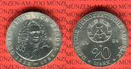 20 Mark Silbergedenkmünze 1984 DDR Gedenkmünze 225. Todestag Georg Frie... 122.72 US$ 110,00 EUR  +  9.48 US$ shipping