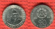 20 Mark Silbergedenkmünze 1984 DDR Gedenkmünze 225. Todestag Georg Frie... 110,00 EUR  Excl. 8,50 EUR Verzending