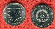 20 Mark Silbergedenkmünze 1989 DDR Gedenkmünze 500. Geburtstag Thomas M... 72.52 US$ 65,00 EUR  +  9.48 US$ shipping