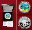 150 Dollar Silbermünze 5 Unzen Silber 1998...
