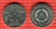 20 Mark Silbergedenkmünze 1972 DDR Gedenkmünze 500. Geburtstag von Luca... 42,00 EUR  + 8,50 EUR frais d'envoi