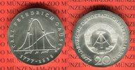 20 Mark Silbergedenkmünze 1977 DDR Gedenkmünze 200. Geburtstag Carl Fri... 4093 руб 57,00 EUR  +  610 руб shipping