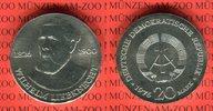 20 Mark Silbergedenkmünze 1976 DDR Gedenkmünze 150. Geburtstag Wilhelm ... 43.51 US$ 39,00 EUR  +  9.48 US$ shipping
