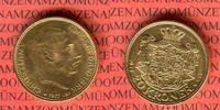 20 Kronen Kroner Goldmünze 1917 Dänemark Kursmünze Christian X. vz-prfr... 365,00 EUR  +  8,50 EUR shipping