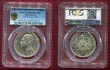 3 Mark Silber Kaiserreich 1917 Hessen, Hes...