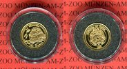 10 Pa'anga 1998 Tonga Die kleinsten Goldmünzen der Welt; La Princesa PP... 59,00 EUR  Excl. 8,50 EUR Verzending