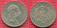 5 Mark 1903 Sachsen Georg, Kursmünze, Circulation Coin sehr schön +  88.14 US$ 79,00 EUR  +  9.48 US$ shipping