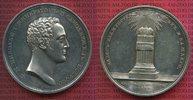 Silbermedaille 1824 Rußland Krönung Nikola...