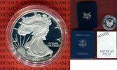 1 Dollar Silbermünze 2001 USA 1 Dollar 2001 American Eagle, 1 Unze PP i... 49,00 EUR  +  8,50 EUR shipping