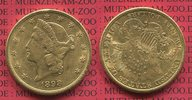 20 Dollars Goldmünze Double Eagle 1898 S U...