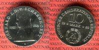 10 Mark Silbergedenkmünze 1980 DDR Gedenkmünze 225. Geburtstag Gerhard ... 37,00 EUR  +  8,50 EUR shipping